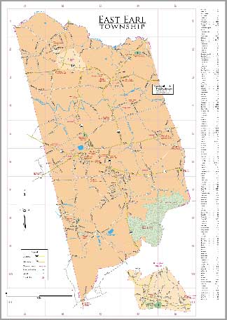 Click here for East Earl Township map